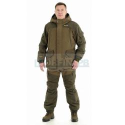 Куртка NOVATEX PRIDE «Магнум -15» (исландия, хаки)(бесшумные кнопки)