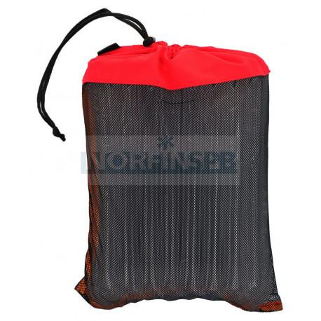 Мешок из сетки (сетка, красный)