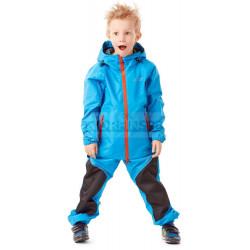 Детский комплект дождевой Dragonfly EVO Kids, BLUE (мембрана)