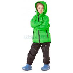 Детский комплект дождевой Dragonfly EVO Kids, GREEN (мембрана)