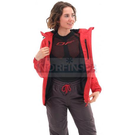 Мембранный костюм Dragonfly Active 2.0 Red-Gray (W)