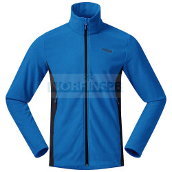 Флисовая куртка BERGANS Finnsnes Fleece Jacket, синий/тёмно-синий