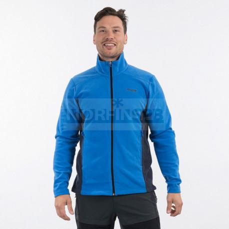 Флисовая куртка BERGANS Finnsnes Fleece Jacket, синий/тёмно-синий