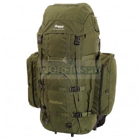 Рюкзак туристический Bergans PowerFrame 130L, тёмно-зелёный