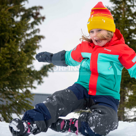 Детские штаны BERGANS Lilletind Ins Kids Pnt, Navy/SolidCharcoal