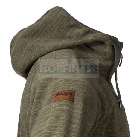 Куртка Bergans Hareid мужская флисовая, Seaweed Mel