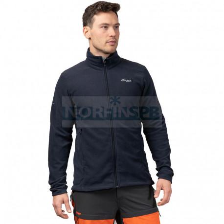 Флисовая куртка BERGANS Finnsnes Fleece Jacket, Dark Navy