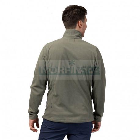 Флисовая куртка BERGANS Finnsnes Fleece Jacket, Green Mud