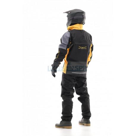 Мембранная куртка Dragonfly QUAD PRO BLACK-YELLOW 2021