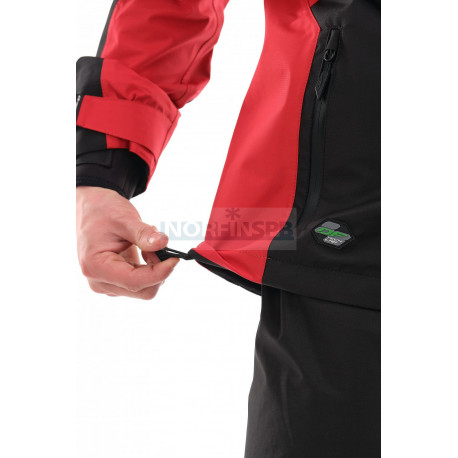 Мембранная куртка Dragonfly QUAD PRO BLACK-RED 2021
