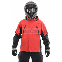 Мембранная куртка Dragonfly QUAD 2.0 RUBIN-BLACK
