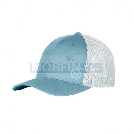 Бейсболка Mark, голубой/белый