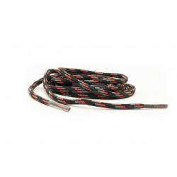 Шнурки Chiruca черные с красным