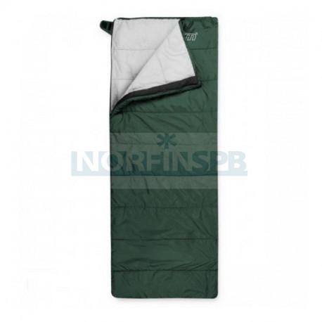 Спальный мешок Trimm TRAVEL, зеленый, 185 R