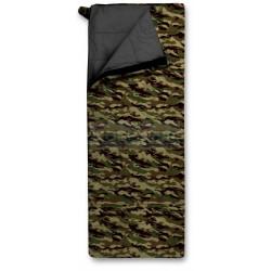 Спальный мешок Trimm TRAVEL, камуфляж, 195 R