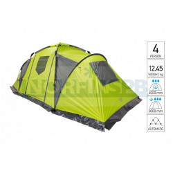 Палатка автомат. 4-х мест. Norfin SALMON 4 NF