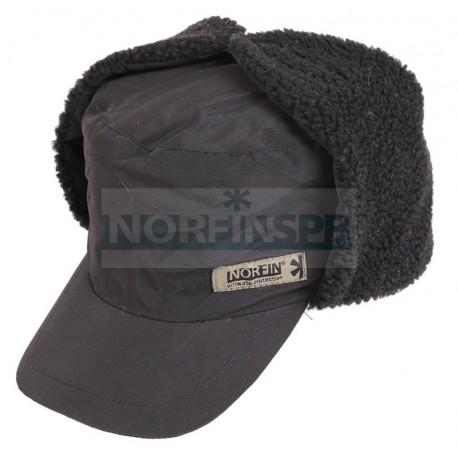 Шапка-ушанка Norfin Inari Black