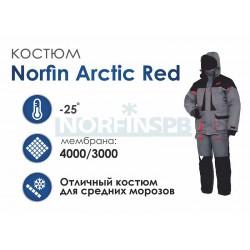 Зимний костюм Norfin Arctic Red 2 New