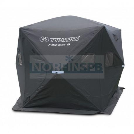 Палатка Trimm Shelters FISHER 5, черный