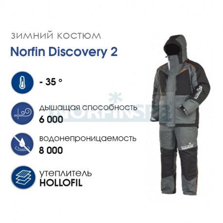 Костюм зимний Norfin DISCOVERY 2