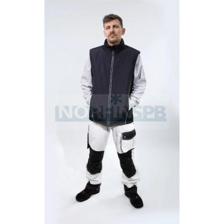 Жилет Brodeks KW 101, серый