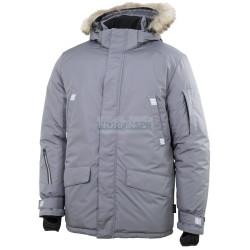 Парка мужская зимняя Brodeks KW 204 PLUS, серый