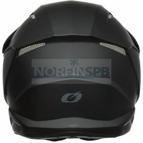 Шлем кроссовый O'NEAL 3Series SOLID, термопластик ABS, мат. (черный)