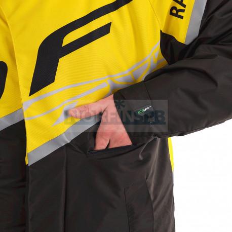 Плащ зимний Dragonfly RACE COAT Yellow 2020