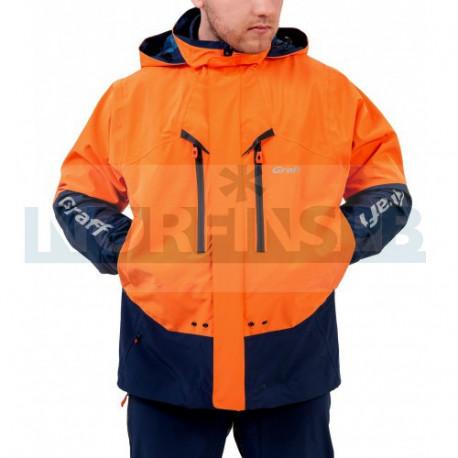 Костюм рыболовный Graff (Bratex 10000, оранжево-синий)