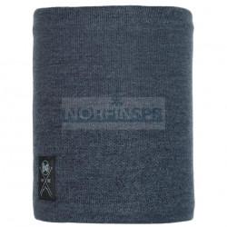 Шарф Buff Knitted and Fleece Neckwarmer Neo Navy