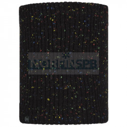Детский шарф Buff Knitted and Fleece Neckwarmer Jorg, Black