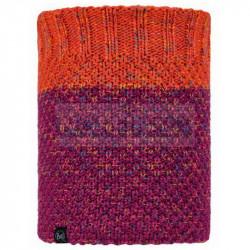 Шарф Buff Knitted and Fleece Neckwarmer Janna, Fuchsia