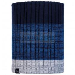 Шарф Buff Knitted and Fleece Neckwarmer Igor, Night Blue
