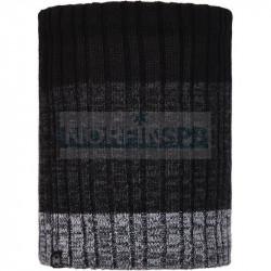 Шарф Buff Knitted and Fleece Neckwarmer Igor, Black