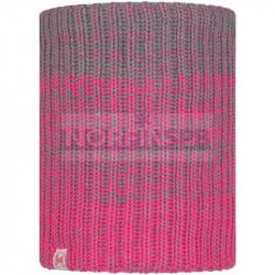 Детский шарф Buff Knitted and Fleece Neckwarmer Gella, Pump Pink