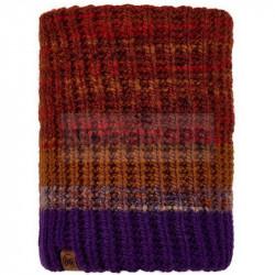 Шарф Buff Knitted and Fleece Neckwarmer Alina, Rusty