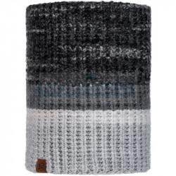 Шарф Buff Knitted and Fleece Neckwarmer Alina, Grey