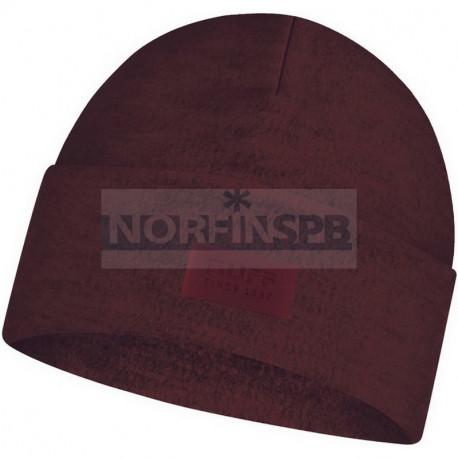 Шапка Buff Merino Wool Fleece Hat, Maroon