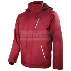 Куртка мужская зимняя Brodeks KW 210, темно-красный