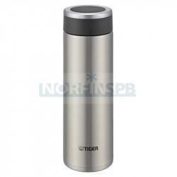 Термос подарочный Tiger MMW-A048 Clear Stainless, 0,48 л, стальной