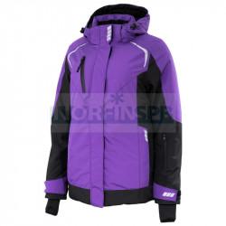 Куртка женская зимняя Brodeks KW 208, сиреневый/черный