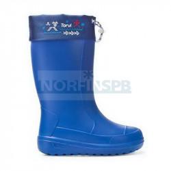 Зимние женские сапоги TORVI ОНЕГА из ЭВА -40, синие