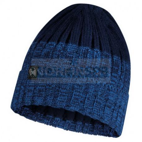 Шапка Buff Knitted and Fleece Band Hat Igor, Night Blue