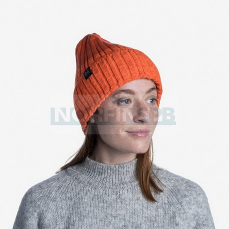 Шапка Buff Knitted and Fleece Band Hat Igor, Black