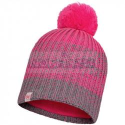 Детская шапка Buff Knitted and Fleece Band Hat Gella, Pump Pink