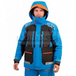 Зимний костюм-поплавок рыболовный Graff -15 (Bratex 8000, черно-голубой)