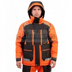 Зимний костюм-поплавок рыболовный Graff -15 (Bratex 8000, оранжево-черный)