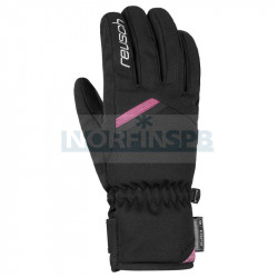 Перчатки горнолыжные REUSCH 2021-22 Coral R-Tex XT, черный/розовый
