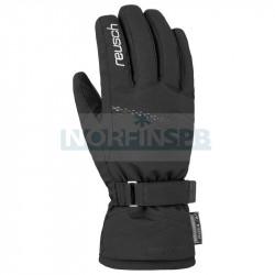 Перчатки горнолыжные REUSCH 2021-22 Hannah R-Tex XT, черный/серебряный