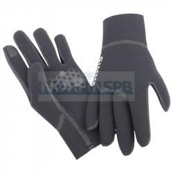Перчатки рыболовные Simms Kispiox Glove, черный